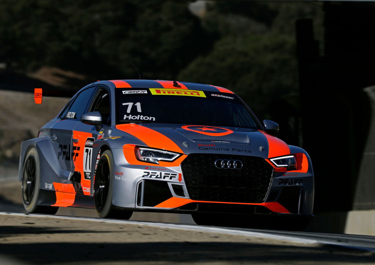 Paul Holton wins title in Audi RS 3 LMS