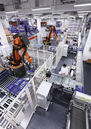 Nachhaltige Logistik im Automatisierten Kleinladungsträgerlager (AKL)