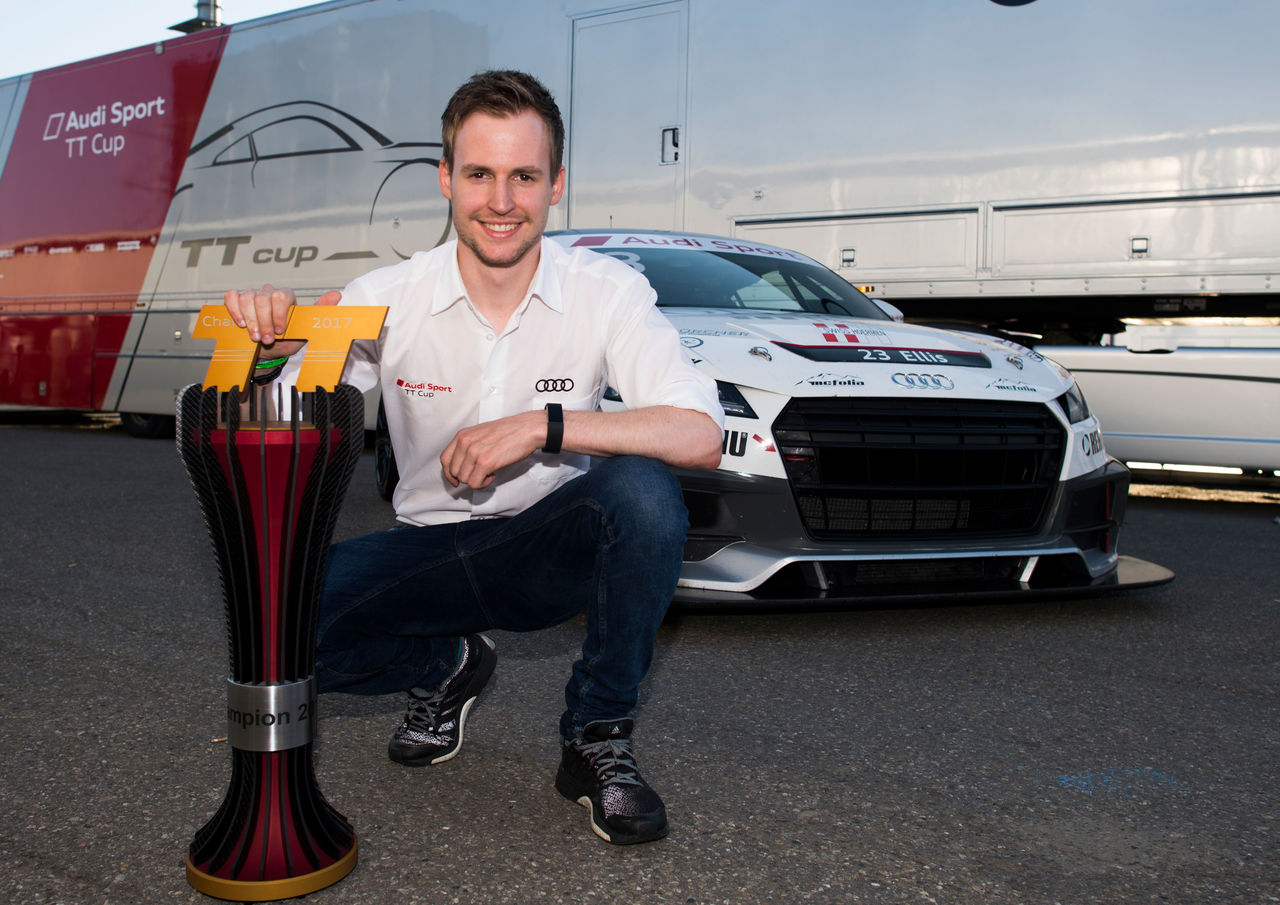 Philip Ellis: decisive career step with Audi Sport