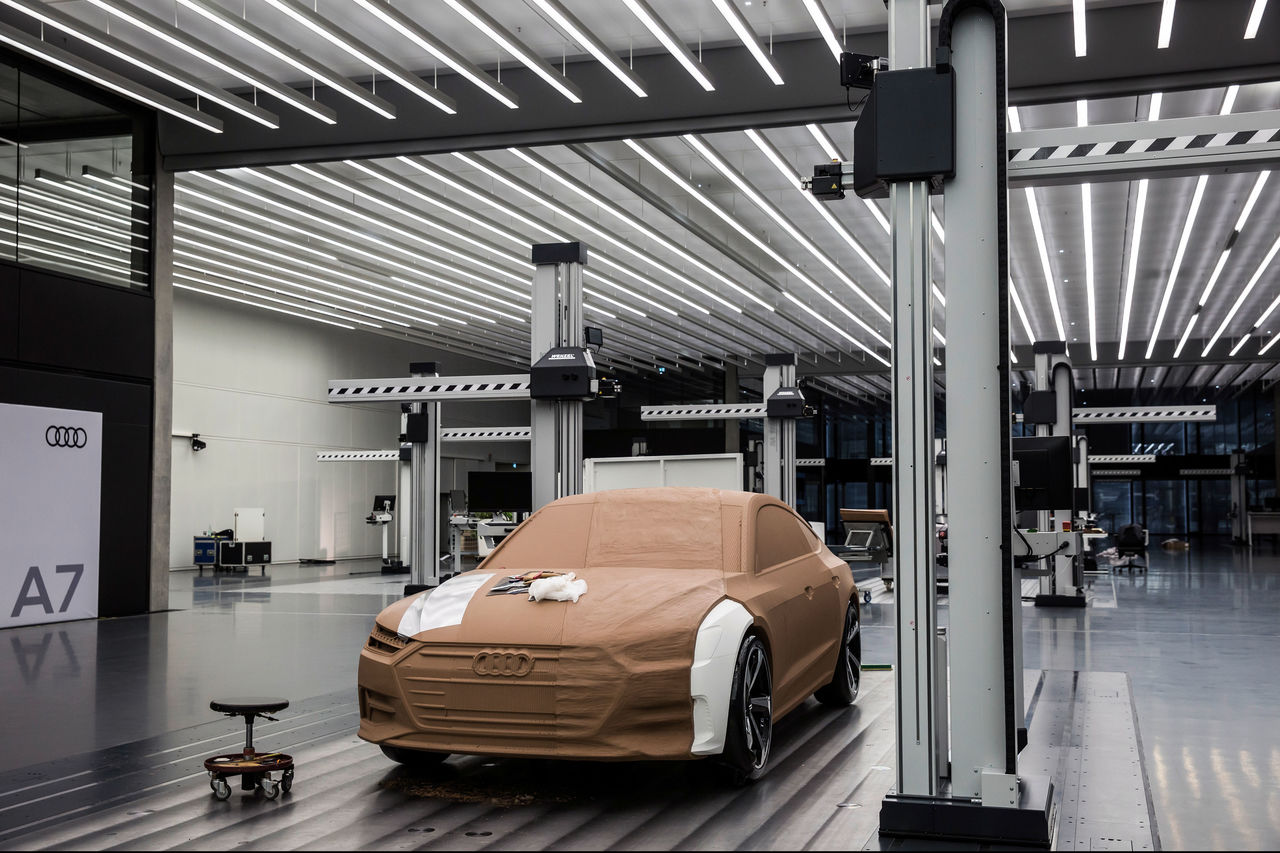 From Idea To Finished Car High Tech And Handmade Finish In The Audi Design Audi Mediacenter