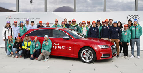 German Ski Federation (DSV) and Audi ready for new ski season
