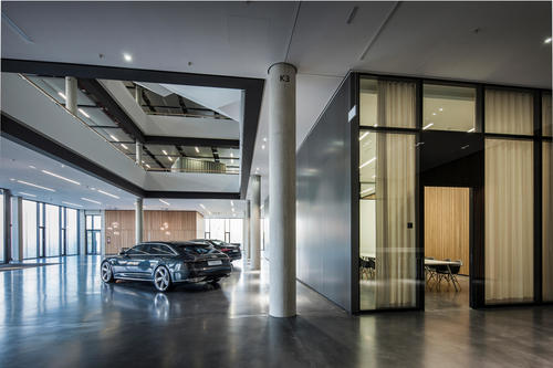 The new Audi Design Center