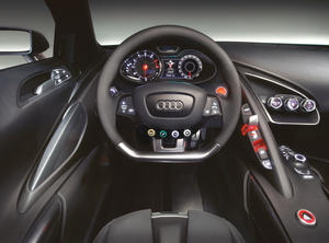 Audi Le Mans quattro - Interior