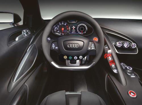 Audi Le Mans quattro - Innenraum