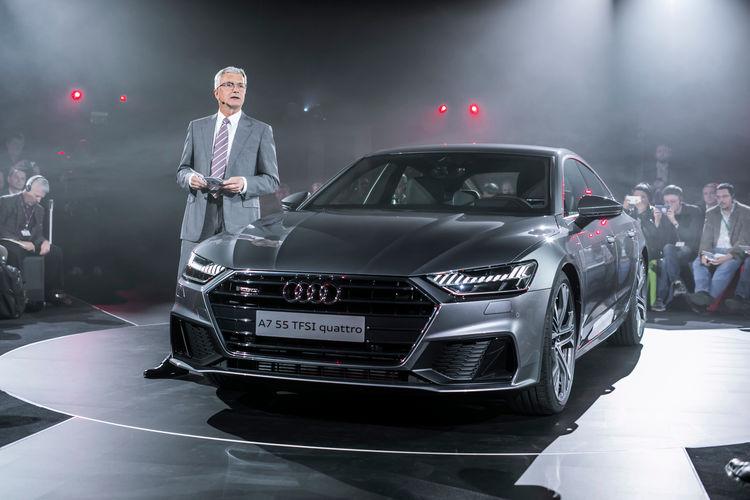 Audi A7 Sportback world premiere, Ingolstadt