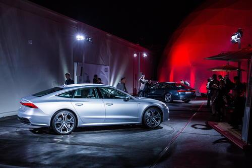 Audi A7 Sportback Weltpremiere, Ingolstadt