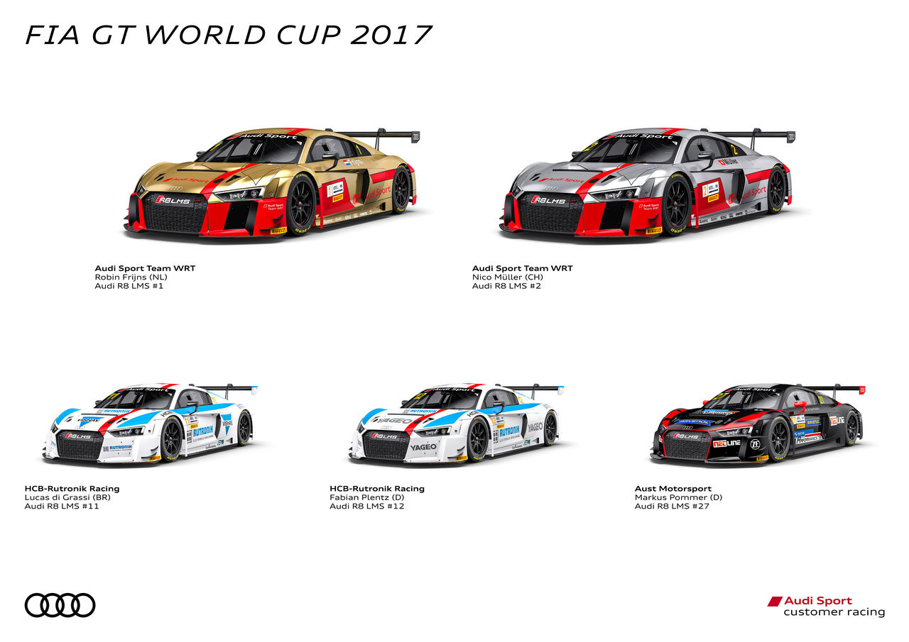 Audi Sport aims to clinch fifth victory in Macau