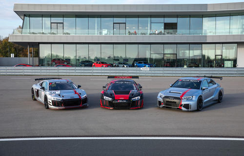 Audi Sport customer racing Test Days 2017