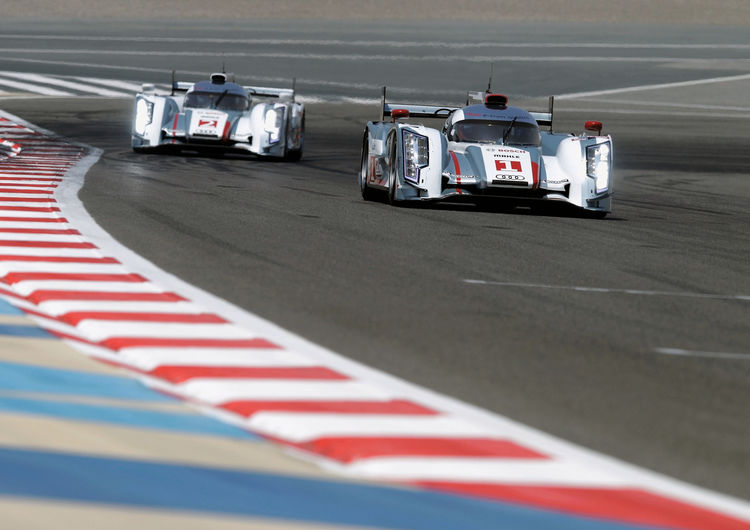 Audi one-two victory in the heat of Bahrain