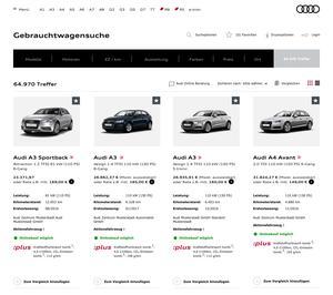 Audi startet Online-Verkauf für Gebrauchtwagen