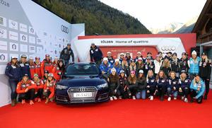 Audi bleibt Namensgeber des FIS Ski Weltcup bis 2022