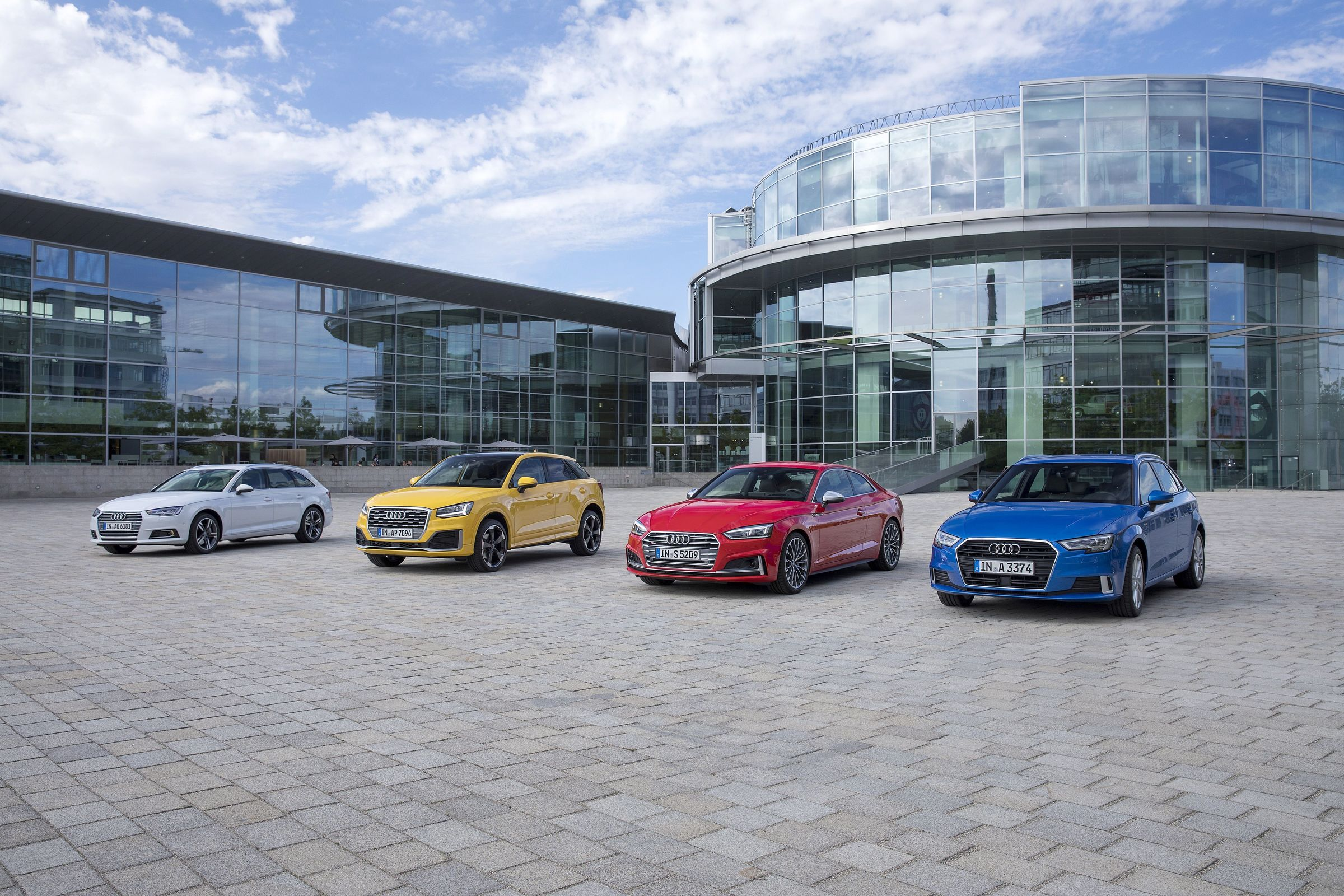 Audi Q2, Audi A3, Audi A4 and Audi A5 are produced at the headquarters of AUDI AG in Ingolstadt