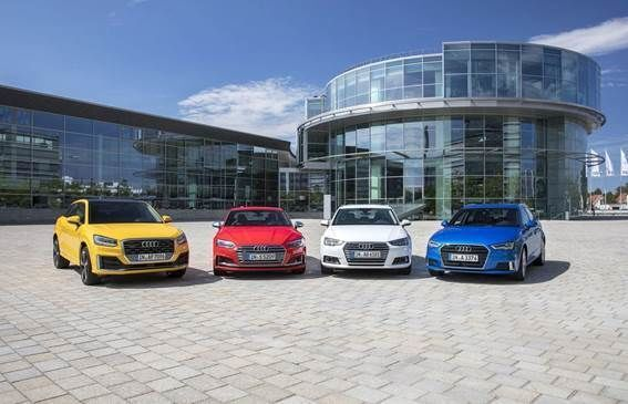 Audi starts fourth quarter with sales growth
