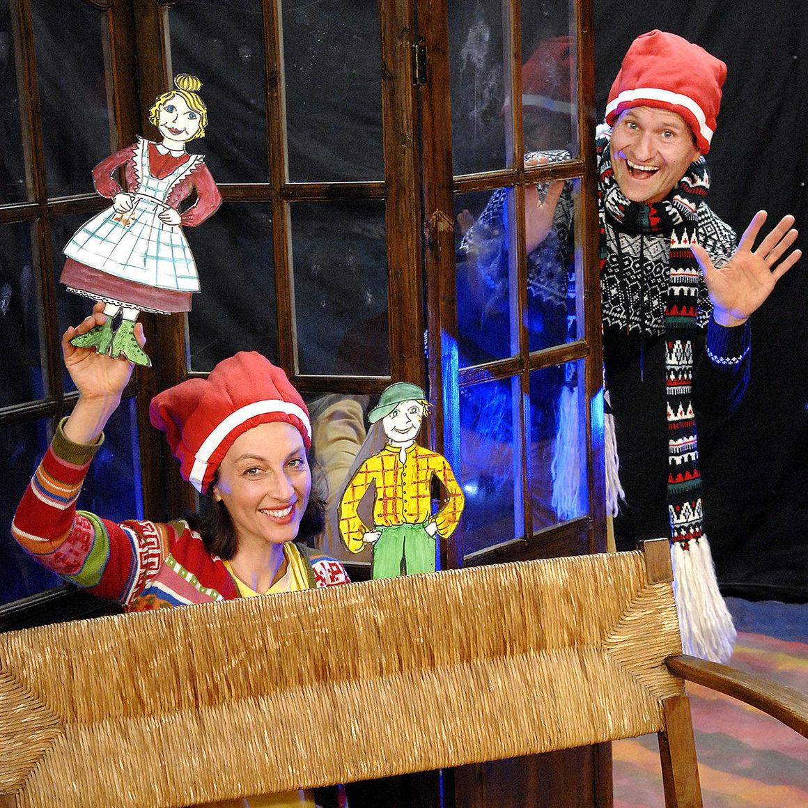 """Kindertheater """"Radelrutsch"""" am Nikolaustag im  Audi Forum Neckarsulm"""