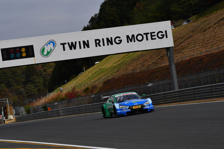 The DTM visit at Super GT at Motegi