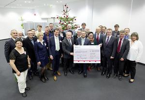 Neuer Rekord bei Audi-Weihnachtsspende