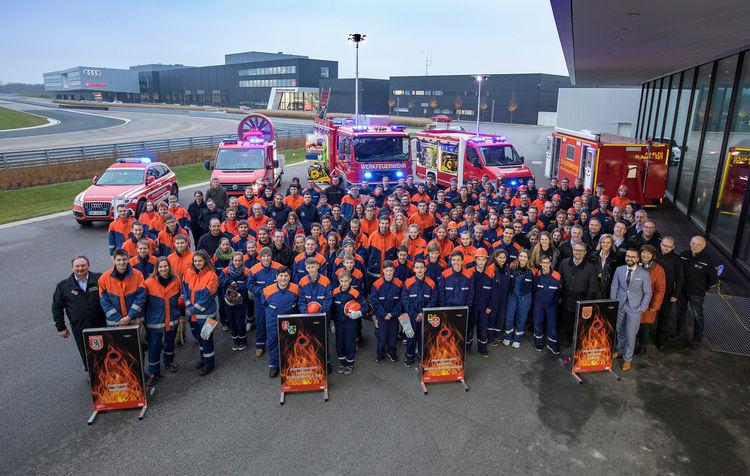Audi unterstützt Jugendarbeit der Feuerwehr