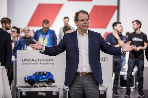 Team AFILSOP der Universität Ilmenau gewinnt  Audi Autonomous Driving Cup 2017