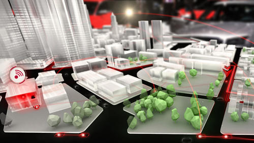 Audi Urban Future Initiative at the International CES electronics fair 2014