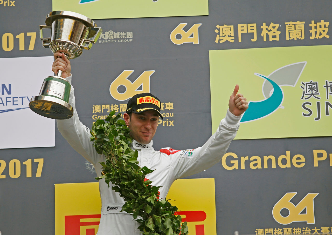Robin Frijns second with Audi in Macau on making his debut