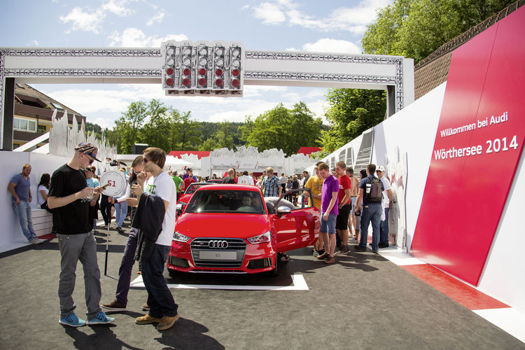Audi at the 2014 Wörthersee