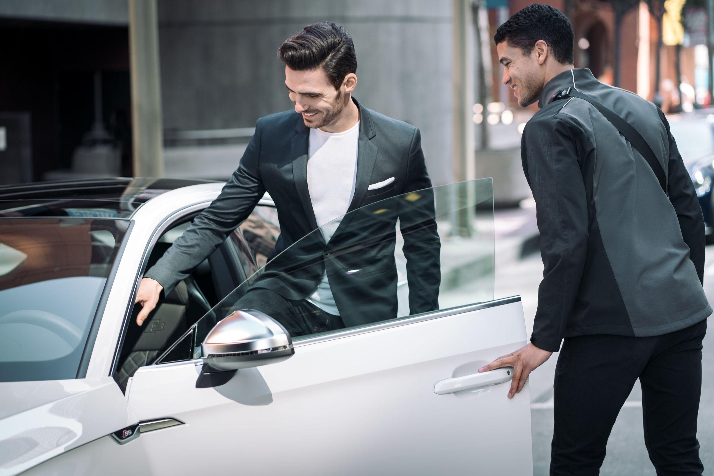 Premium mobility service Audi on demand