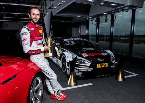 DTM-Champion René Rast, Neuburg