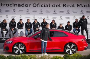 Audi übergibt Dienstautos an Stars von Real Madrid