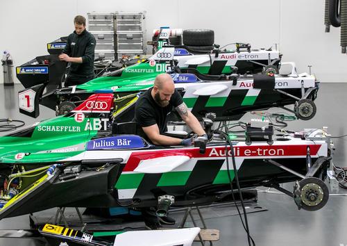 Formula E Season 4 Preparation
