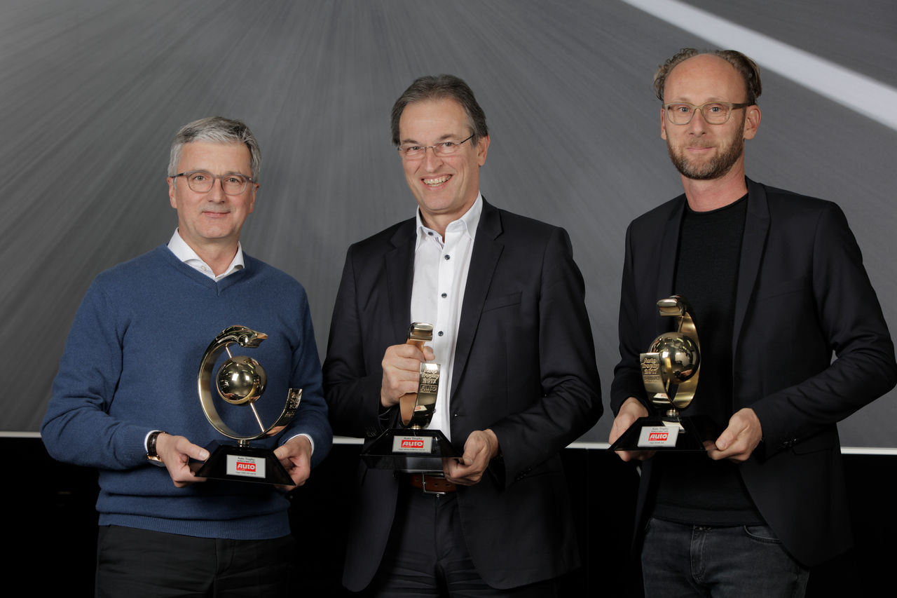 """Auto Trophy 2017"": three first places for Audi"
