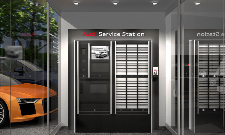 Audi Service Station: Around-the-clock services for ultimate customer convenience