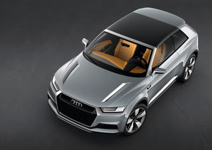 Concept Car Audi crosslane coupé