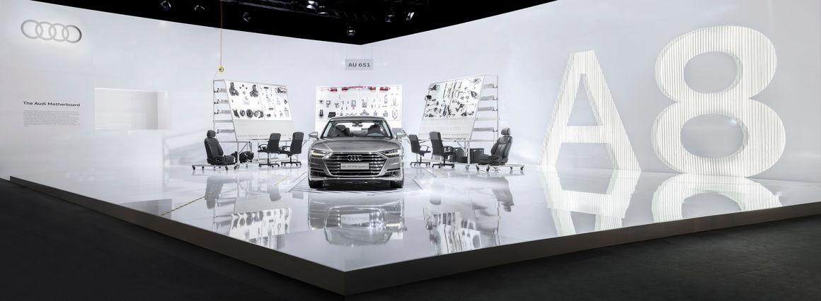 Audi auf der Design Miami: Technische Entwicklungsschritte exklusiv erleben