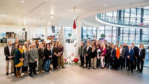 Audi-Weihnachtsspende Neckarsulm:  260.000 Euro für den guten Zweck