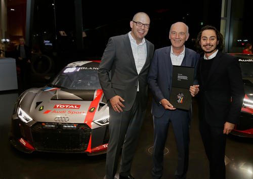 Audi Sport customer racing Race Night 2017