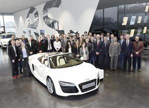 Audi ehrt beste Auszubildende und Studenten