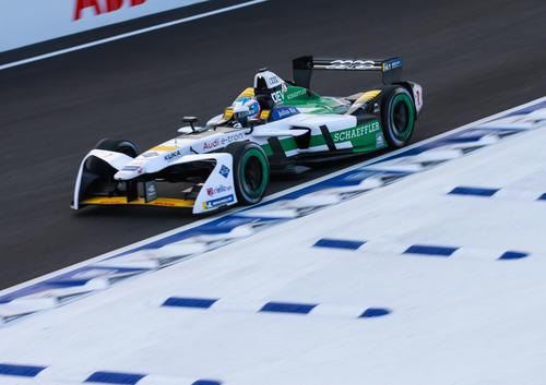 Formel E Rookie Test Marrakesch 2018