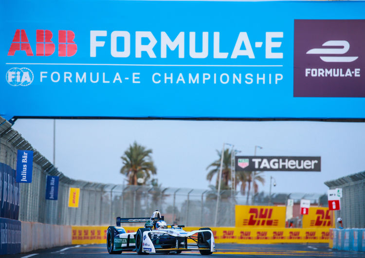 Formel E Rookie Test Marrakesch 2018