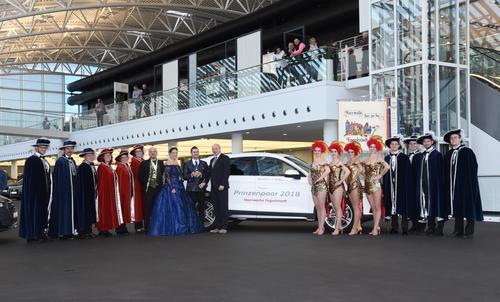 Prinzenpaar der Narrwalla fährt Audi