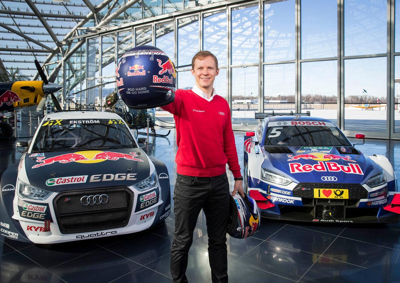 Audi driver Mattias Ekström ends DTM career