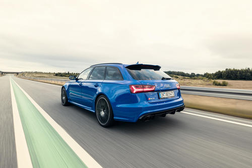 Hochleistungssportler in limitierter Sonderserie: Audi RS 6 Avant performance Nogaro Edition