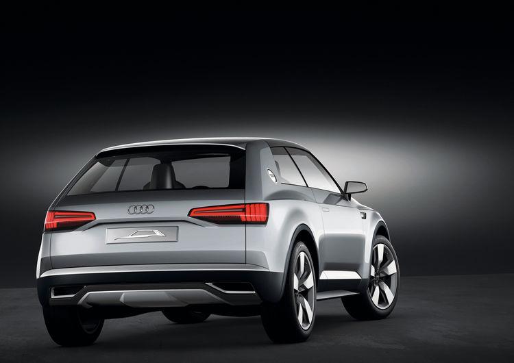 Audi crosslane coupé concept car