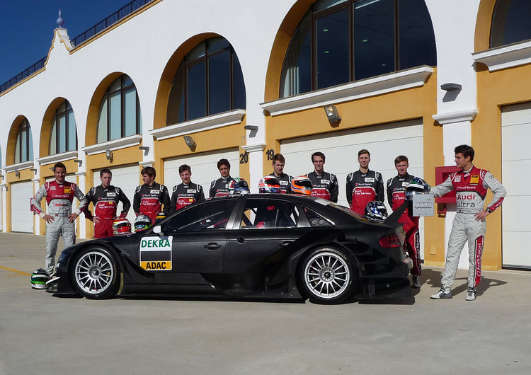 The talents joining Timo Scheider and Adrien Tambay