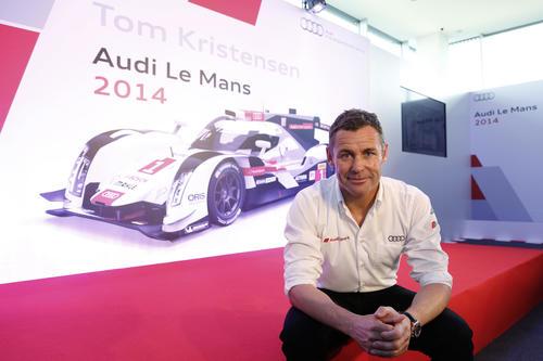 Audi-Werksfahrer Tom Kristensen beendet einzigartige Profi-Karriere