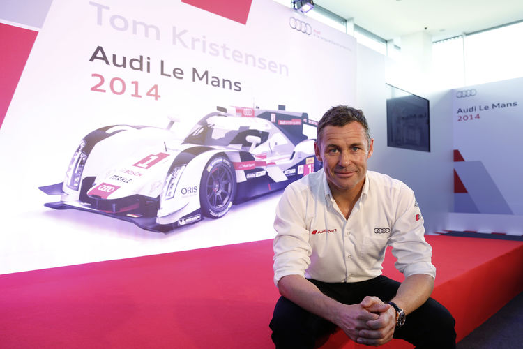 Audi factory driver Tom Kristensen ends unique professional career
