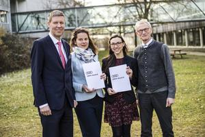 Audi Environmental Foundation supports young researchers: award for contributions to resource management
