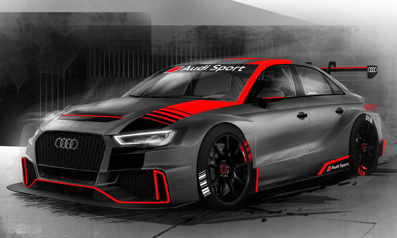 Audi Sport Customer Racing With Two Partner Teams In New Wtcr Fia World Touring Car Cup Audi Mediacenter
