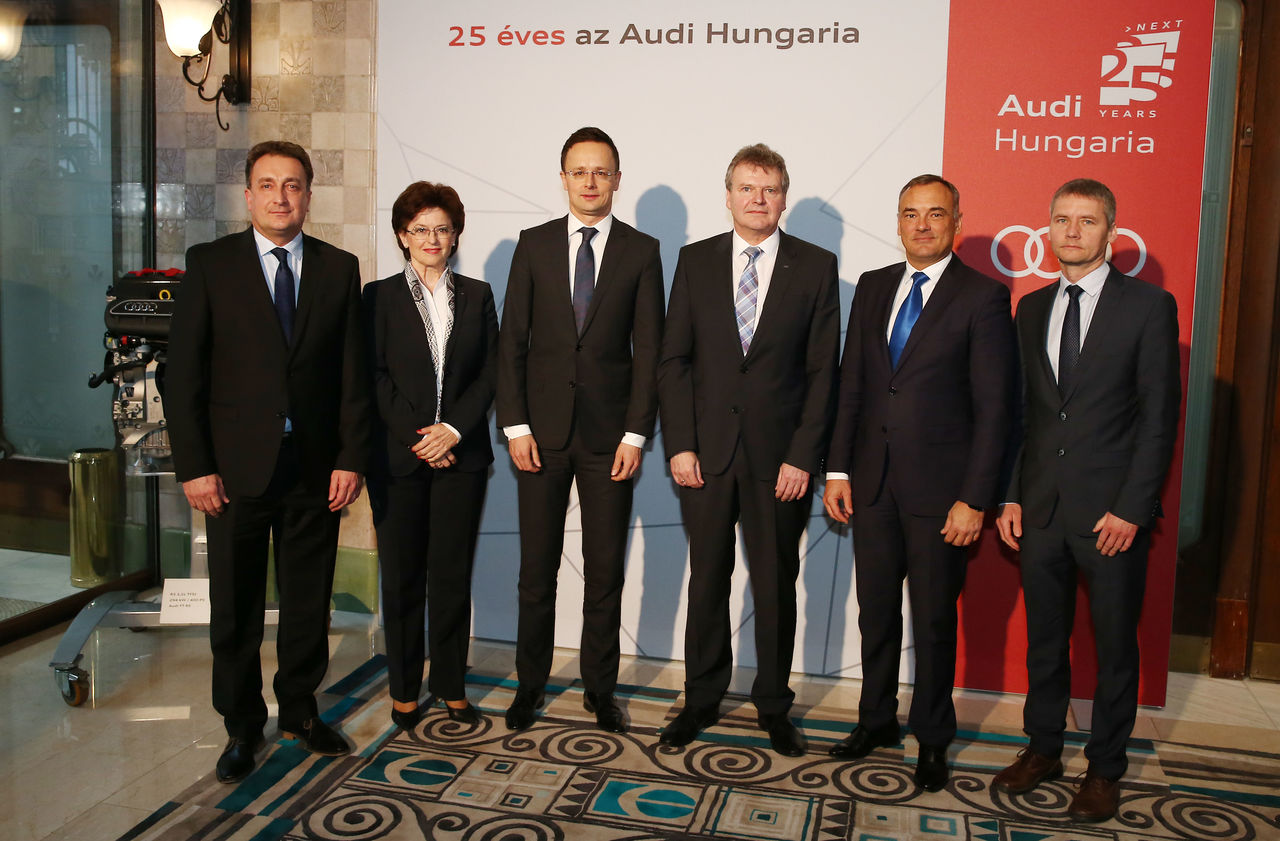 Audi Hungaria: anniversary year kicks off with projects for the future