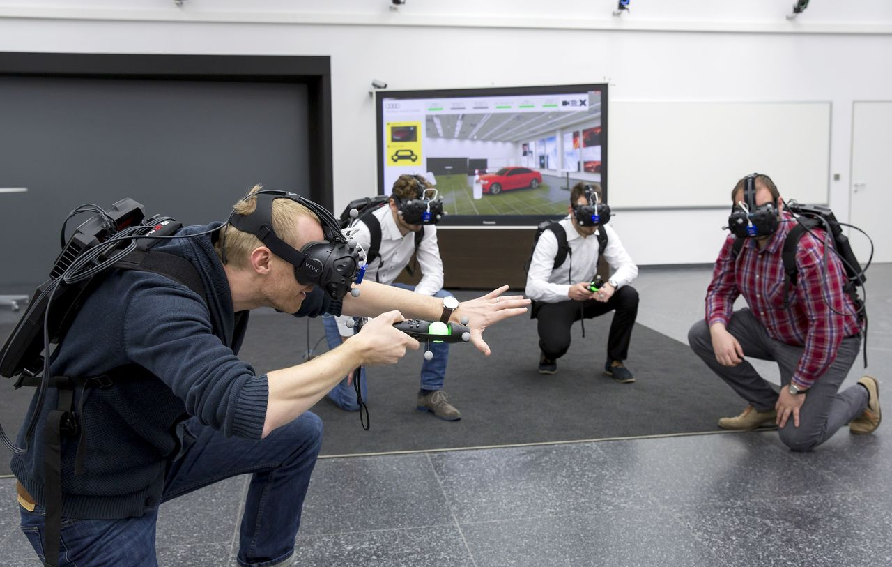 """Audi tests """"virtual reality holodeck"""" for faster product development"""