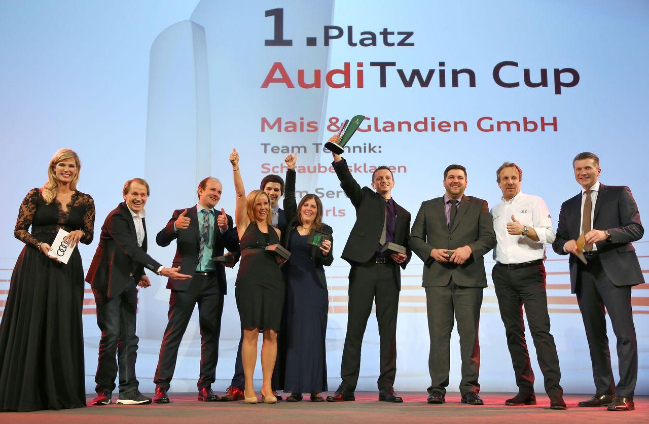 Audi Twin Cup: Autohaus Mais & Glandien GmbH wins 2018 German service championship